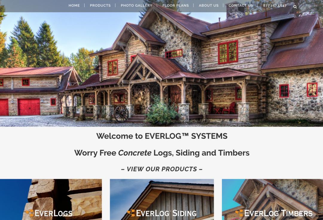 Everlogs Concrete Logs