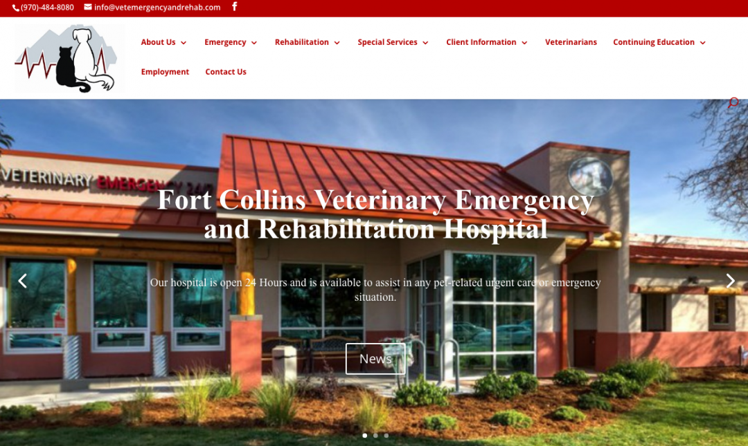 Ft. Collins Vet Emergency Rehab Hospital
