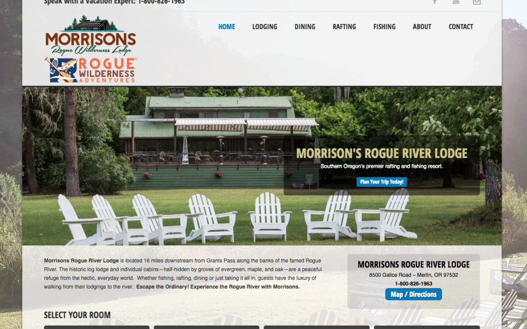Morrisons Rogue Wilderness Lodge