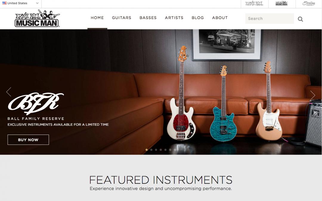 Music Man Guitars