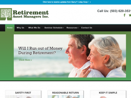Retirement Asset Managers Inc