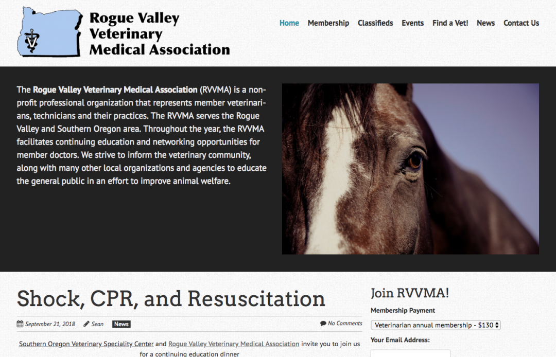 Rogue Valley Veterinary Medical Association