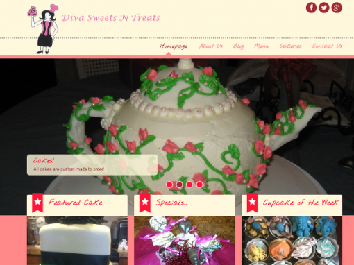 Diva Sweets and Treats