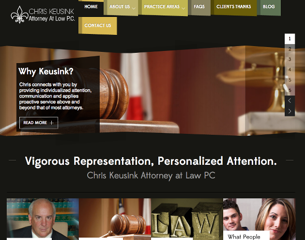 Chris Keusink Attorney
